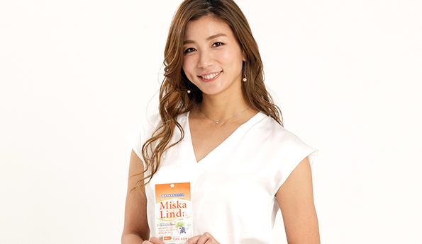 旅サラダなどTVで活躍中の青木愛さんも海外ロケ先に持っていくほどミスカリンダを愛用中です